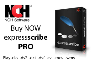 Buy Express Scribe Pro by NCH Software