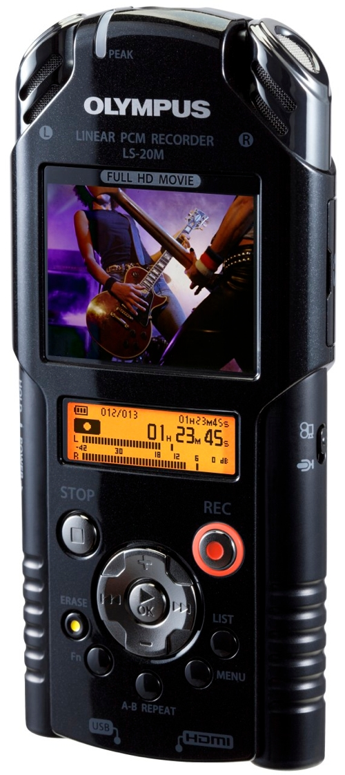 Olympus LS-20M HD Video &amp; Digital Voice Recorder