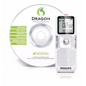 Dragon NaturallySpeaking Digital Voice Recorder DVR Edition with digital voice recorder