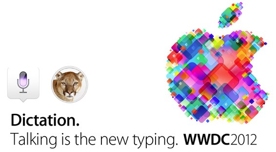 Apple Announce Voice Speech Recognition Built Into OS X 10.8 Mountain Lion called Dictation