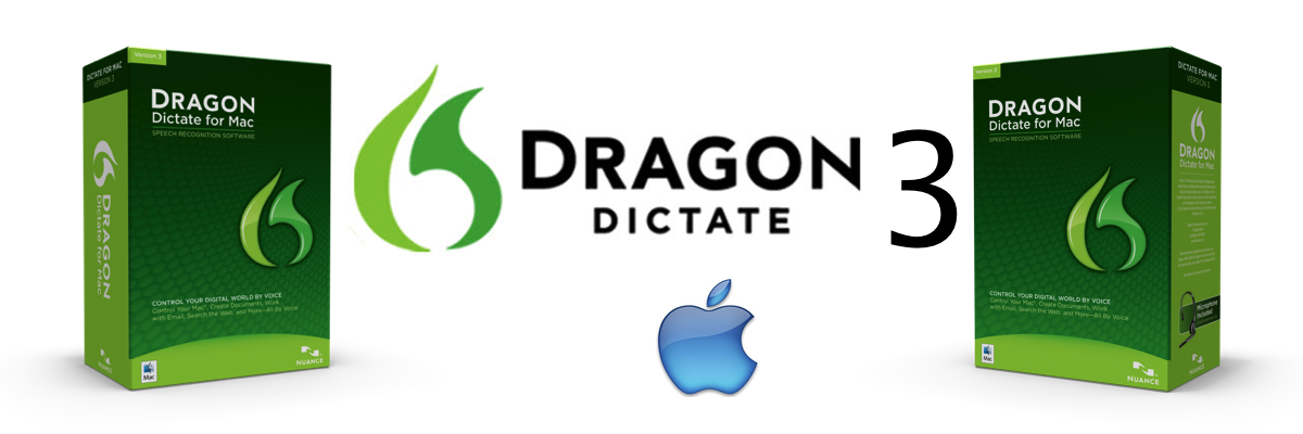 Dragon Dictate 3 - Voice Speech Recognition Software for Mac from Nuance - Dictate Australia