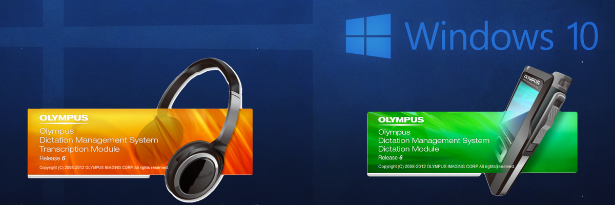 Olympus ODMS Windows 10 Dictation Transcription Module