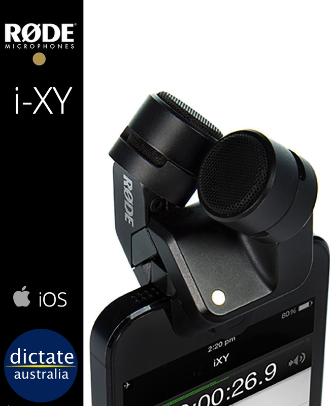 Rode i-XY Condensor Mic iPhone iPad Lightning