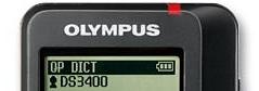 Olympus DS-3400 Display