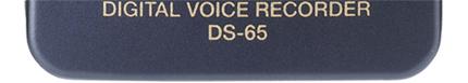 Olympus DS-65 Digital Dictaphone