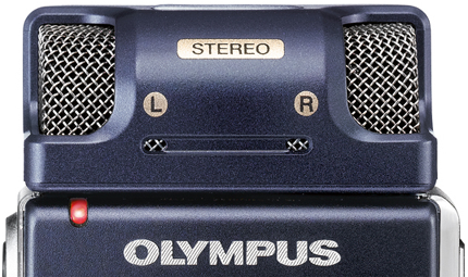 Olympus DS-65 Digital Voice Recorder Stereo Mic