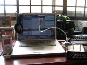 MacMice MicFlex USB Desktop Flexible Mic for Dragon Dictate voice recognition for Mac