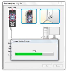 Olympus DM3 / DM5 firware update on Windows - Step 3