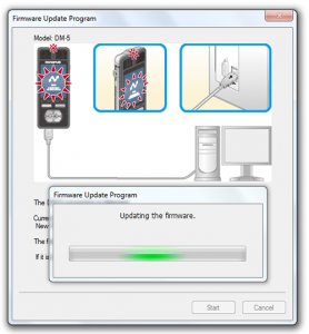 Olympus DM3 / DM5 firware update on Windows - Step 8