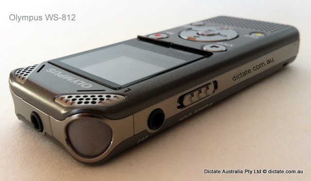 Olympus WS-812 digital voice recorder from Dictate Australia