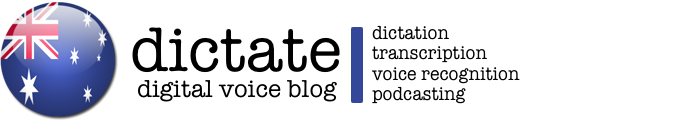 iDictate – Digital Voice Blog