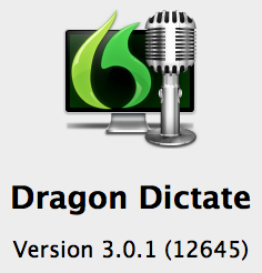 Latest Version Dragon Dictate 3 for Mac from Nuance