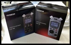 Olympus LS-12 and LS-14 Pro Studio Digital Music Recorder
