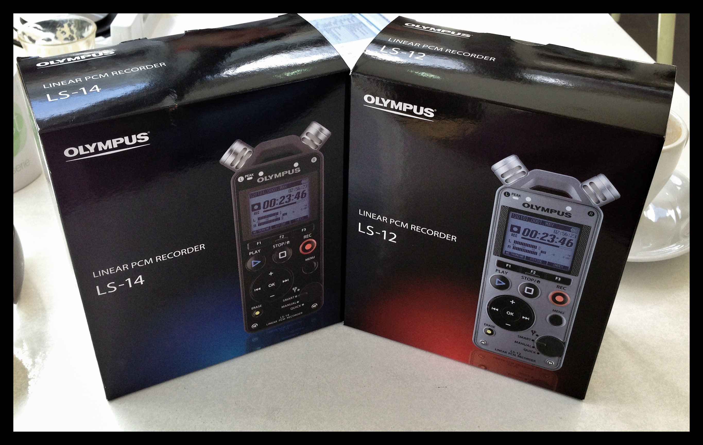 Olympus LS-12 and LS-14 Pro Studio Digital Music Recorder