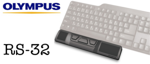RS32 Olympus RS-32 Australia USB hand controller for transcription