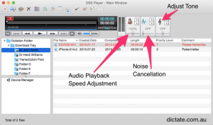 Olympus Transcription Software for Mac - DSS Player Plus v7