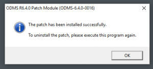 Olympus ODMS R6.4.0 Patch 16