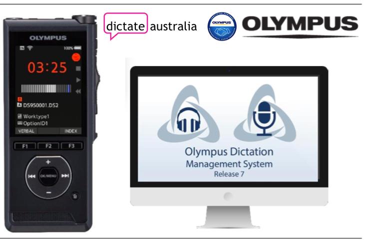 Olympus DS-9500 Dictate Australia