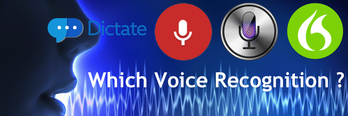 Voice to Text - We Review Nuance Dragon, Google Voice, Apple Dictation, Microsoft Dictate