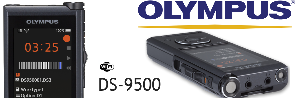 New Olympus DS-9500 Digital Dictaphone Launched in Australia