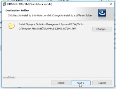 How to install Olympus ODMS R7 Dictation Transcription Module